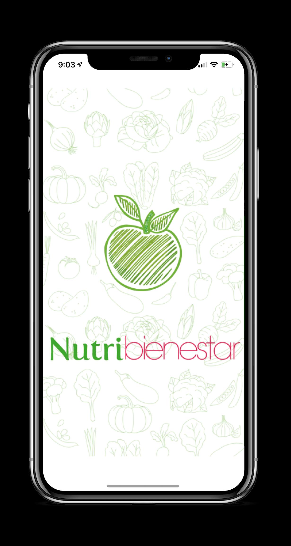 NutriApp Mobile Mockup
